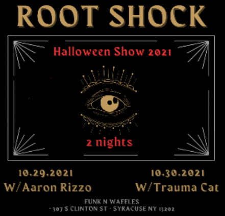 Halloween w Root Shock!