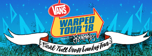LAST EVER Warped Tour w Reel Big Fish, Less Than Jake, The Interrupters and more!